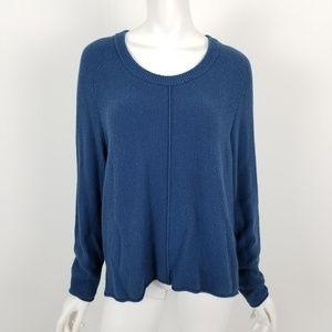 Madewell Deep Teal Blue Sweater Large